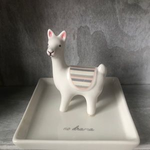 NEW Llama Jewelry Dish
